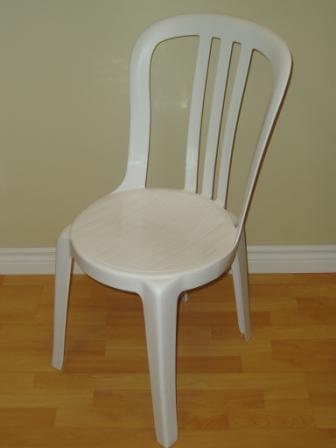 Chaise de jardin Miami blanche
