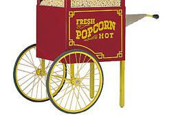 Chariot à popcorn